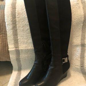 Ladies CK calf boots